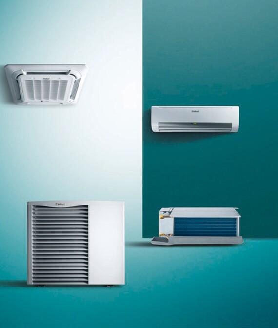 aroVAIR ventilo-convectoren zijn beschikbaar in verschillende uitvoeringen: wandmodel, vloermodel (console), cassette en inbouwmodel.