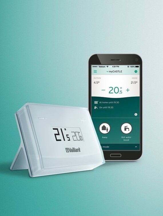 Thermostat connecté vSMART et l'application vSMART