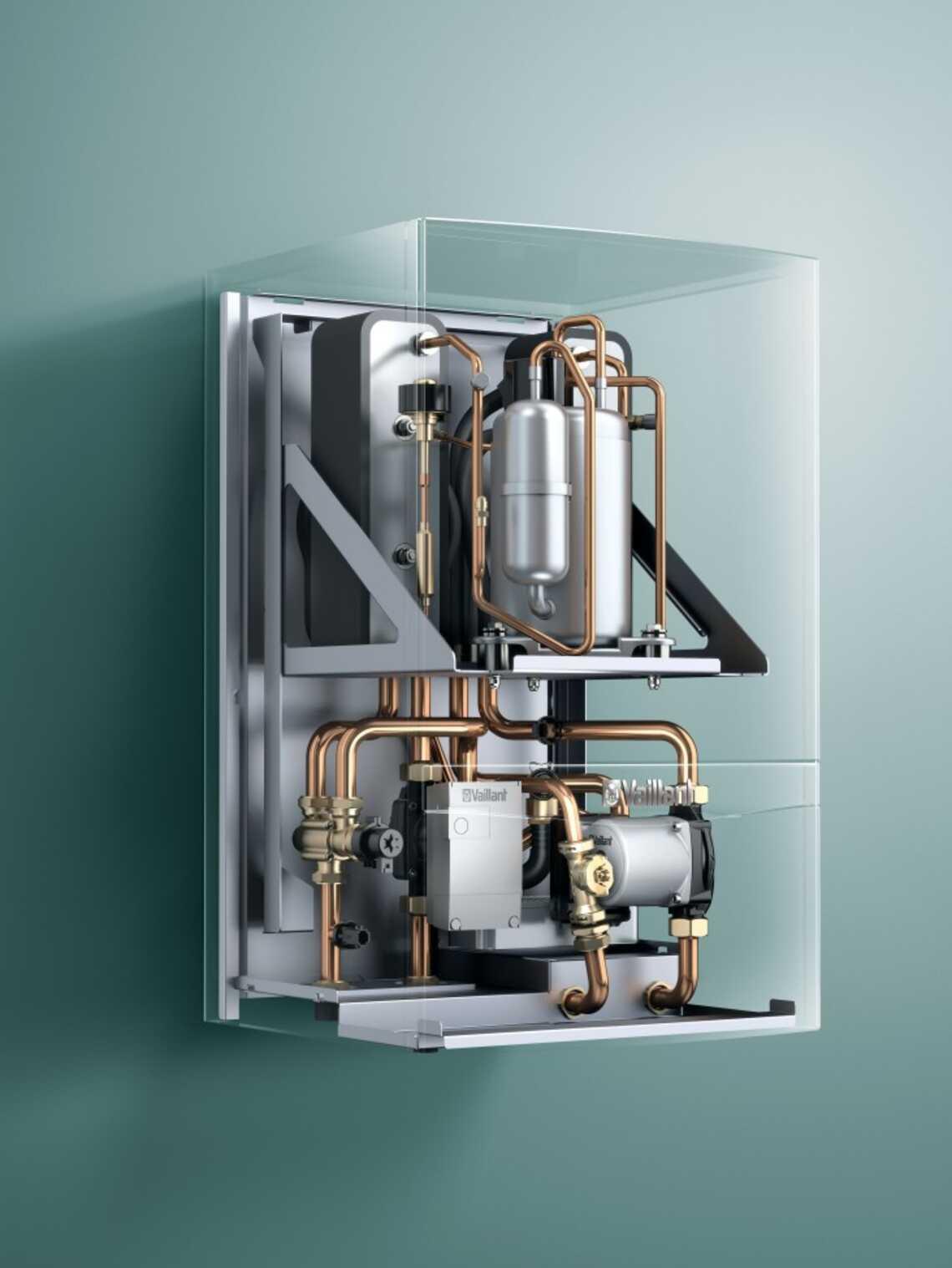 pompe chaleur sol eau murale hybride geotherm hybride vws 36 vaillant. Black Bedroom Furniture Sets. Home Design Ideas