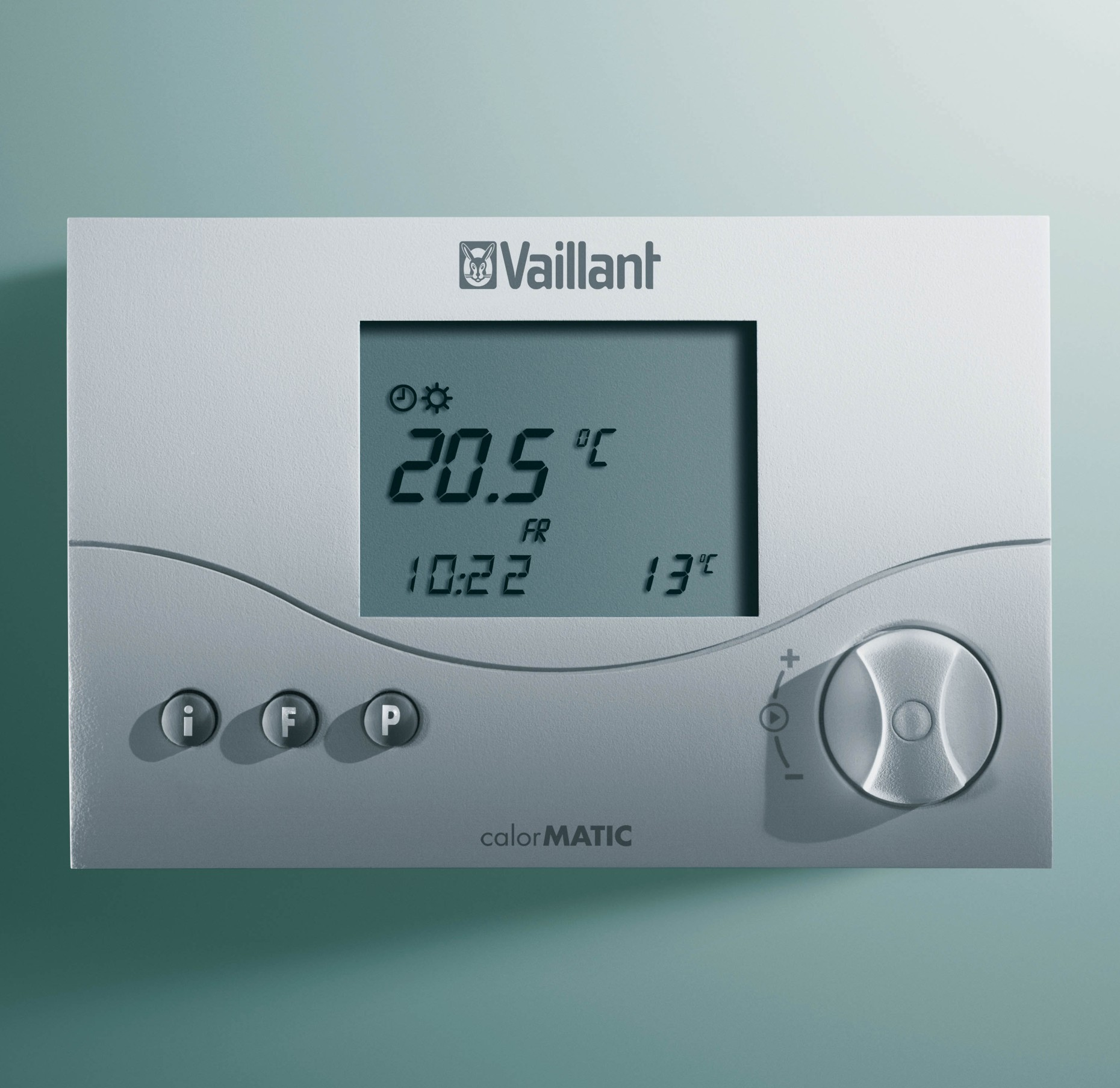 thermostat modulant sans fils calormatic vrt 340f vaillant. Black Bedroom Furniture Sets. Home Design Ideas