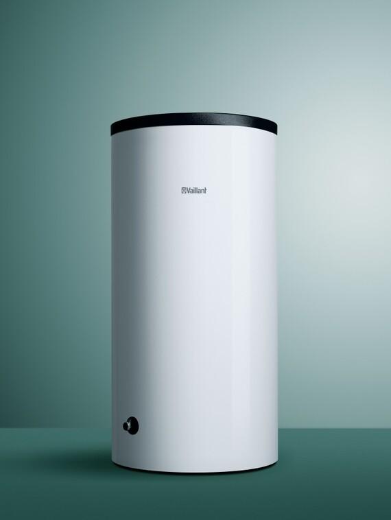 staande cilindrische warmwaterboilers unistor vih r b vaillant. Black Bedroom Furniture Sets. Home Design Ideas