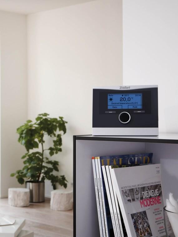 draadloze weersafhankelijke regeling calormatic vrc 470 f. Black Bedroom Furniture Sets. Home Design Ideas