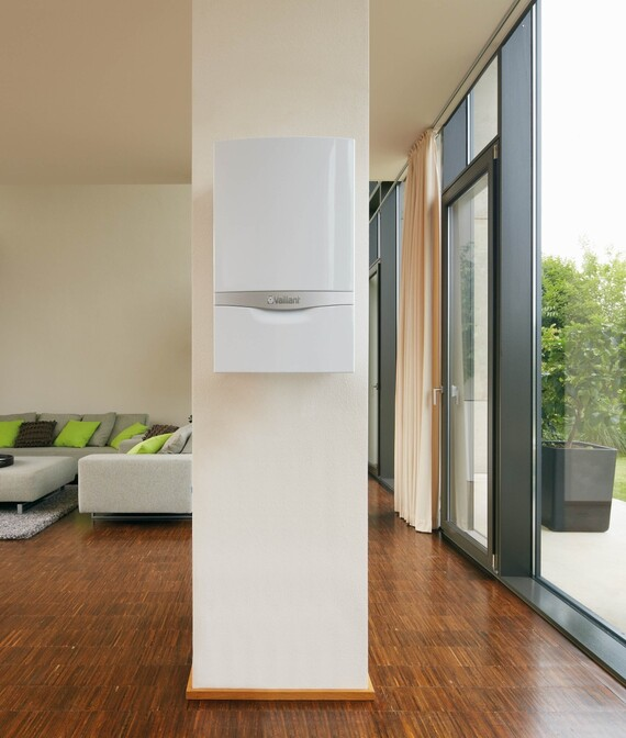 Gascondensatieketel ecoTEC plus in living