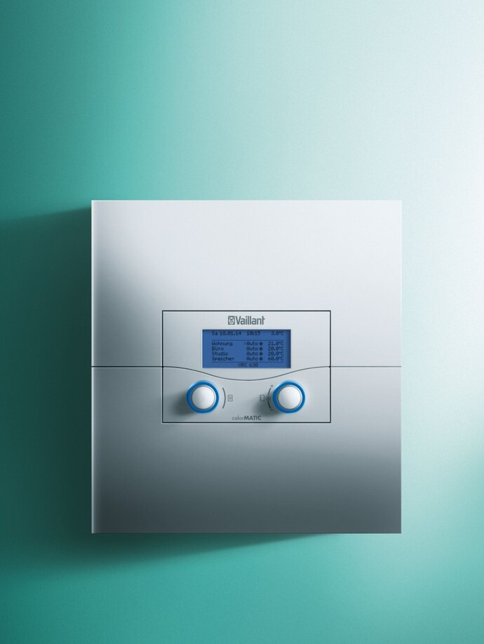 draadloze weersafhankelijke regeling calormatic vrc 450 f. Black Bedroom Furniture Sets. Home Design Ideas
