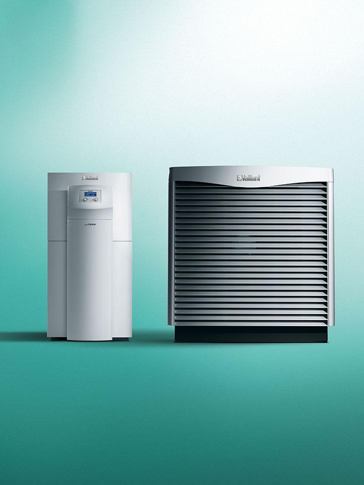 Zonneboiler voor warmtepompen geoSTOR VIH RW 400 - Vaillant