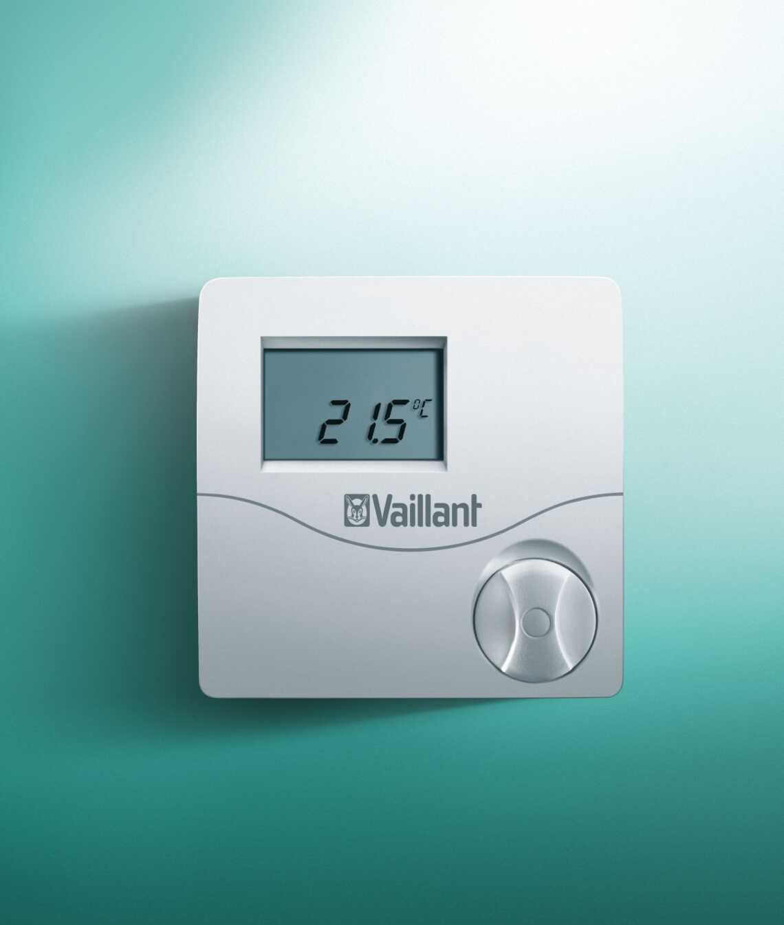 Voorkeur Kamerthermostaat calorMATIC VRT 50 - Vaillant GO36