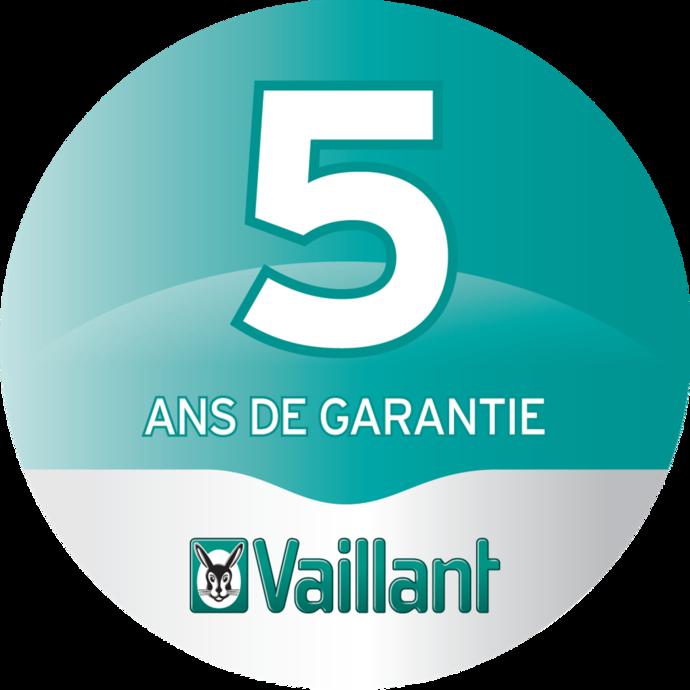 5 ans de garantie sur nos chaudières à condensation ecoTEC plus et ecoTEC exclusive avec Green iQ