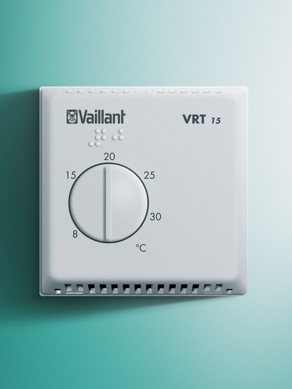 Thermostat d'ambiance sans horloge VRT 15