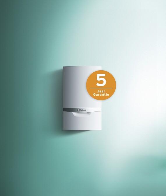 Condensatiegaswandketel ecoTEC plus met 5 jaar garantie