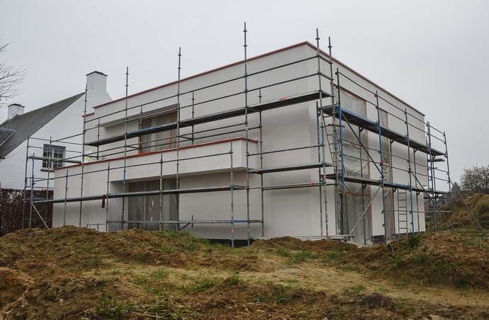 Cette habitation peut également être qualifiée d' « intelligente » dans d'autres domaines. Tout a déjà été prévu pour des aménagements futurs.