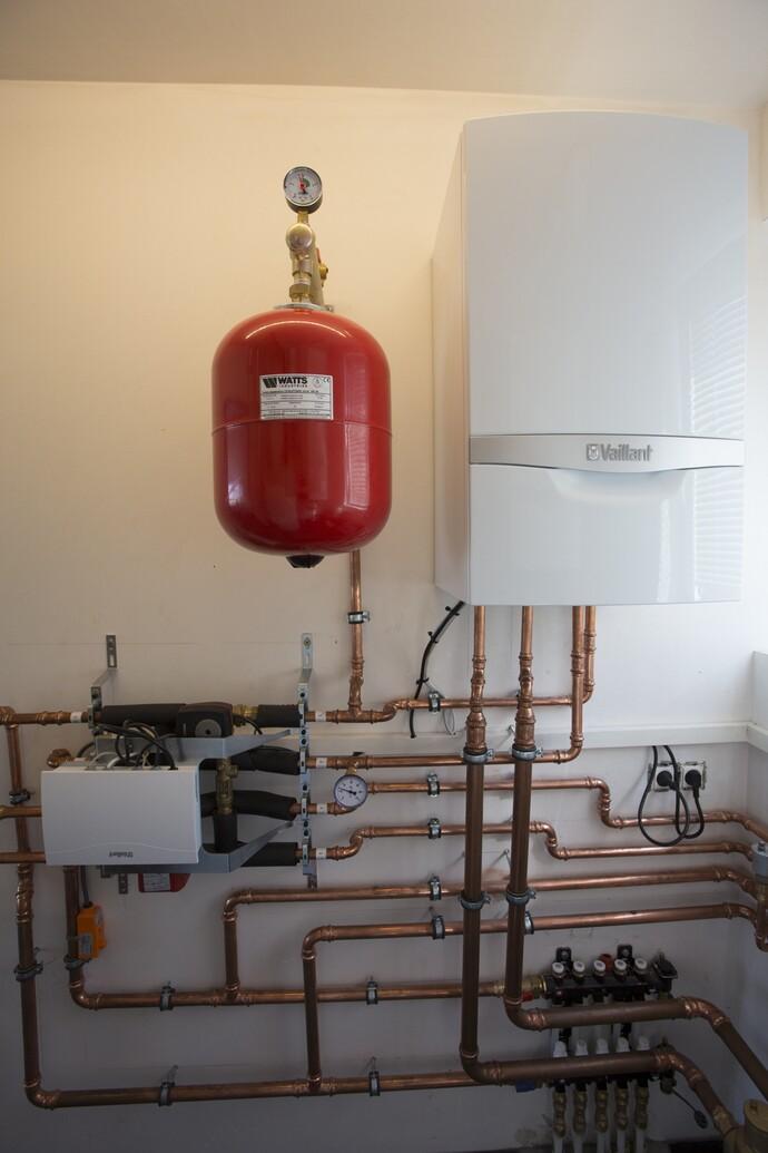 De installateur koos voor Vaillant omdat het merk synoniem staat met hoge kwaliteit, duurzaamheid en innovatie